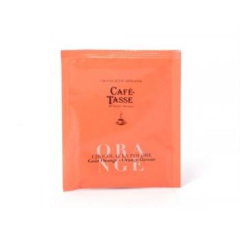 Ciocolată caldă vegană portocale